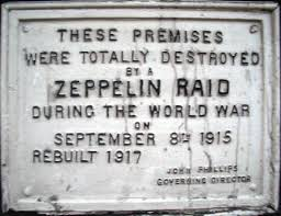 Plaques like this one helped drive home the idea that anybody who would resort to aerial bombing was a ruthless monster. The solution to said monsters, however, was not to attempt to be better than them but to give them a taste of their own medicine.