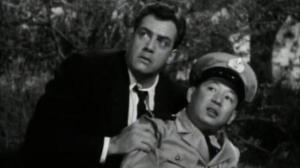 Raymond Burr was very carefully inserted into a recut of the original film for the 1956 US release, Godzilla: King of the Monsters.