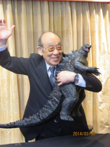 Nakajima Haruo, the man in the Godzilla suit in the original movies, still does fan tours and is generally just a great guy.