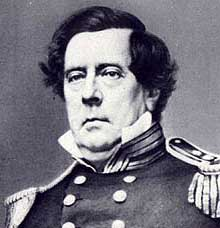 Commodore Matthew C. Perry, a hero of the Mexican-American War, was chosen to lead an expedition to Japan. Originally hesitant, Perry first requested command of the Mediterranean Squadron before ultimately acquiescing and taking the job.