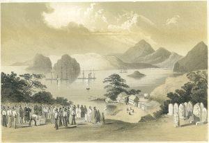 Shimoda in 1856.