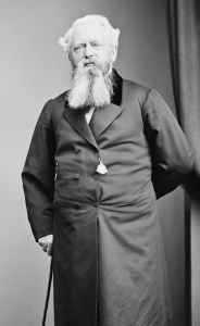 Townsend Harris, the American businessman who became the first resident US Consul General in Shimoda and who negotiated the Harris Treaty in 1858.