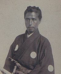 Katsu Kaishu, commander of the Kanrin Maru.