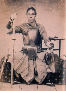 Takasugi Shinsaku, leader of the Choshu shishi, former student of Yoshida Shoin, kendoka and all around party guy.