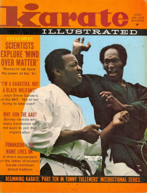 karate-illustrated-steve-sanders-cover