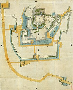 250px-Map-of-Odawara-Castle